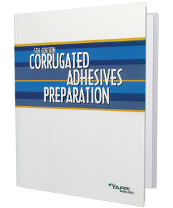 Corrugated Adhesives Preparation, Fifth Edition